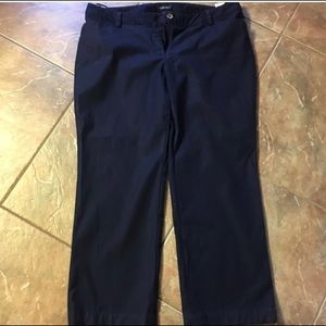 Jones New York Navy Chinos Sz 16W